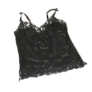 Rampage Lace | Satin-Feel Camisole
